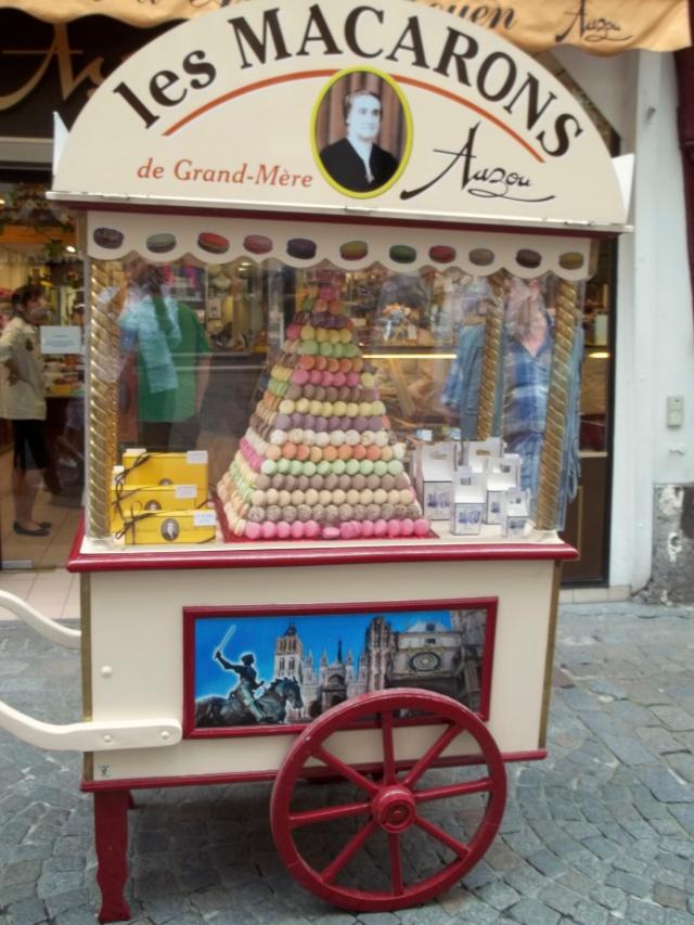 Macaronos in Rouen!